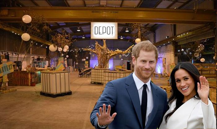 Royal Wedding Party at the Depot