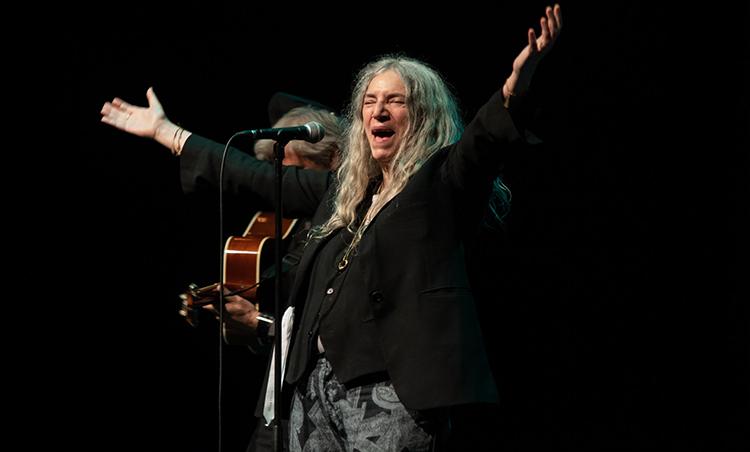Because the night belonged to Patti Smith