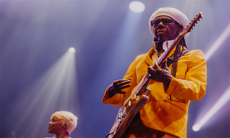 Nile Rodgers & Chic  is set to play Cardiff Castle!