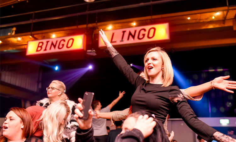 A MAD-CAP BINGO NIGHT WILL LET YOUR NANA PLAY FOR FREE ALL IN THE NAME OF CHARITY
