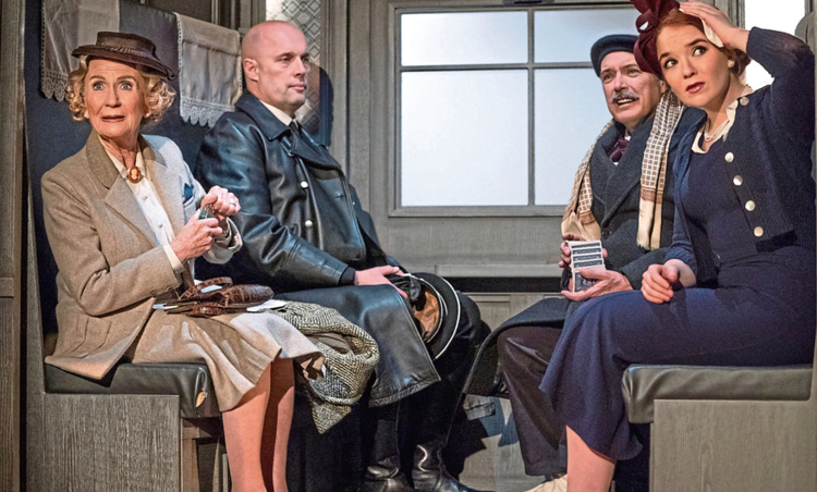"""Opening performance of """"The Lady Vanishes"""" at the New Theatre"""