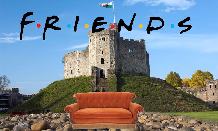 FRIENDS 25th Anniversary Celebrations come to Cardiff