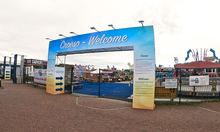 A Funfair Has Opened Down Cardiff Bay