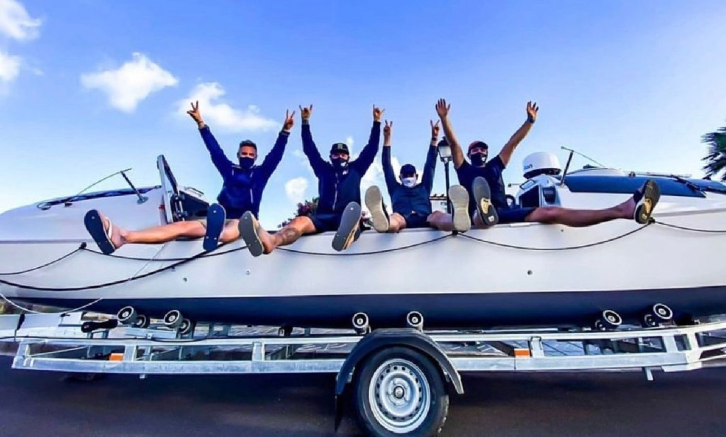 The Dirty Vegan is setting off across the Atlantic for Charity