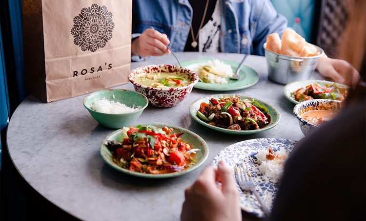 Rosa's Thai Cafe Comes to Cardiff