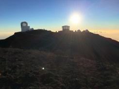 The observatory at the summit of Haleakala