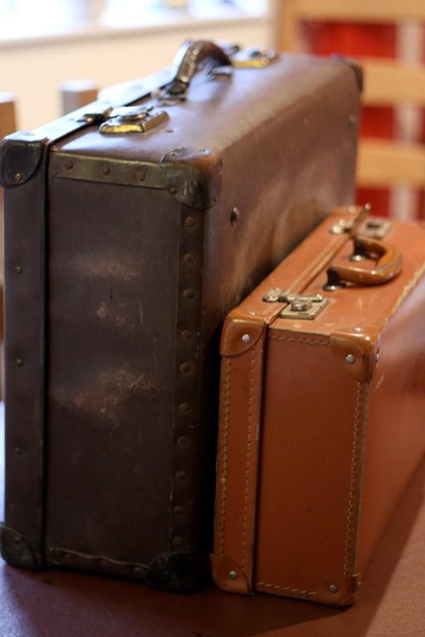Restoring Vintage Suitcases Erica