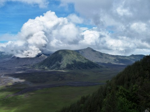 View from Seruni Point