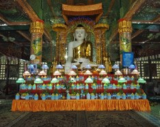 Buddha set with four course meal