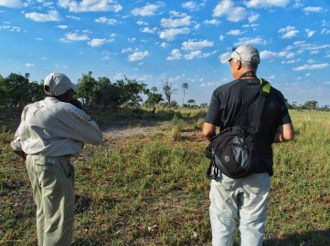 Daniel & G stalking the wild dogs