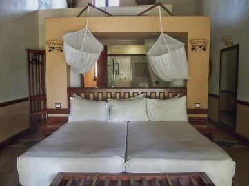Over the top bedroom
