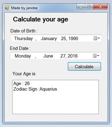 calculateAgeZodiacFig.3