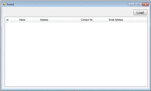 loadataListviewSQLFig.1