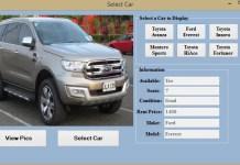 Car Rental Mini System