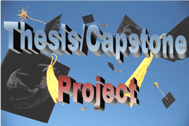 Thesis/Capstone Project