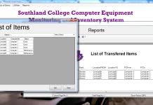 Computer Lab Inventory Management System Using Visual Basic.net and MySQL Database