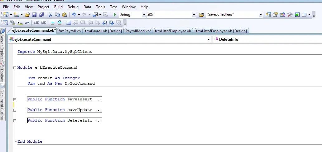 107 - MySQL Insert, Update, Delete Statement for Managing