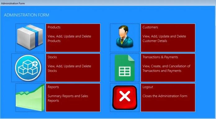 Sales Management System Source Code using VB.Net