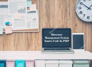 Directory Management System Source Code In PHP