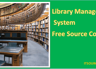 Library Management System free source code