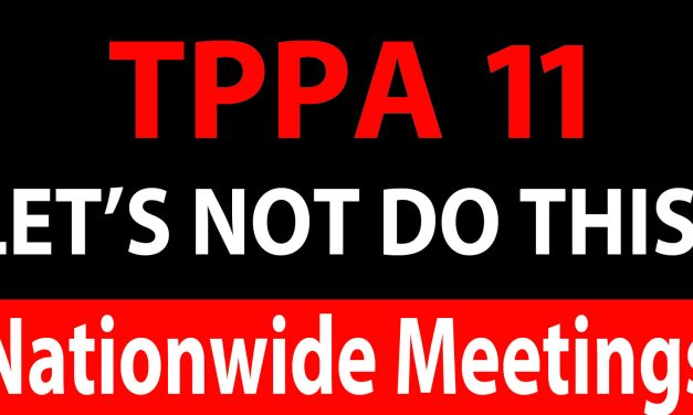 Nationwide Public Meetings on the TPPA-11