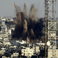 Israeli Air Force Carries Out Airstrikes On Besieged Gaza Strip