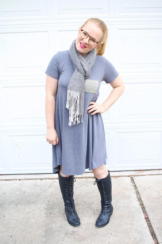 Lularoe Carly Dress Scarf