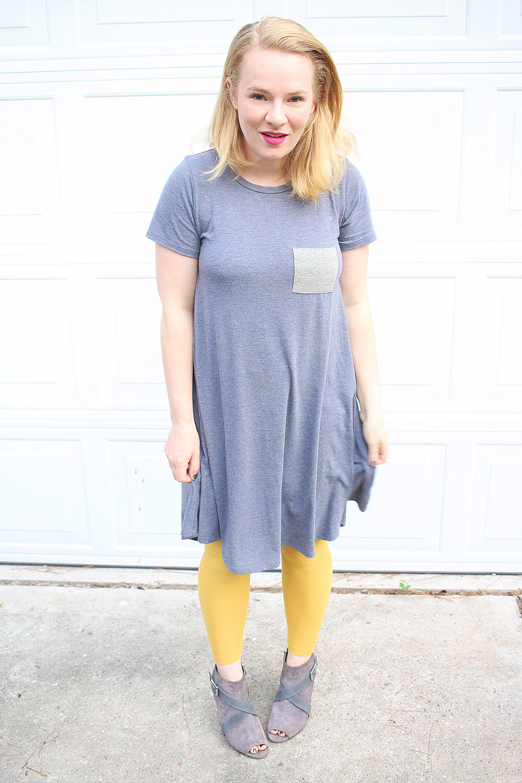 Lularoe Carly Dress & Leggings
