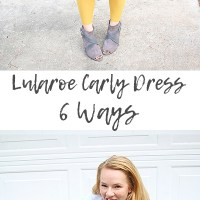 Lularoe Carly Dress Styling