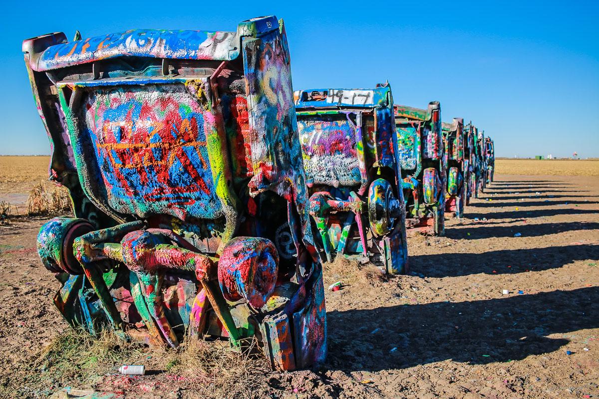 Cadillac Ranch in Amarillo TX