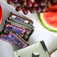 A Watch Party with WWE & Snickers