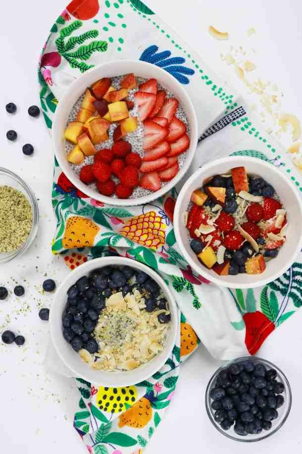 #chia #chiaseeds #chiapudding #healthy #healthybreakfast #brekafastideas #summer #summerrecipes