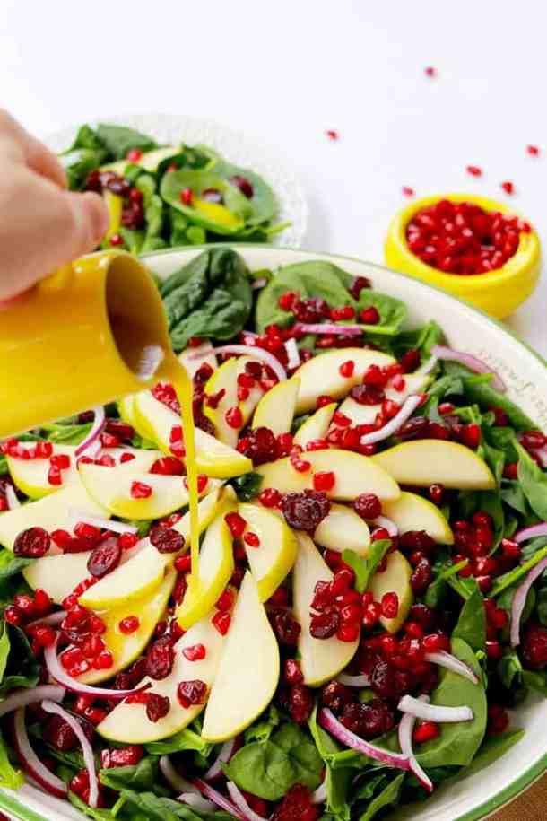 rosh Hashanah healthy apple pie, Healthy Apple Pie, rosh Hashanah desserts, pomegranate pear salad, rosh Hashanah recipe, rosh Hashanah salad, healthy, cooking, salad recipe