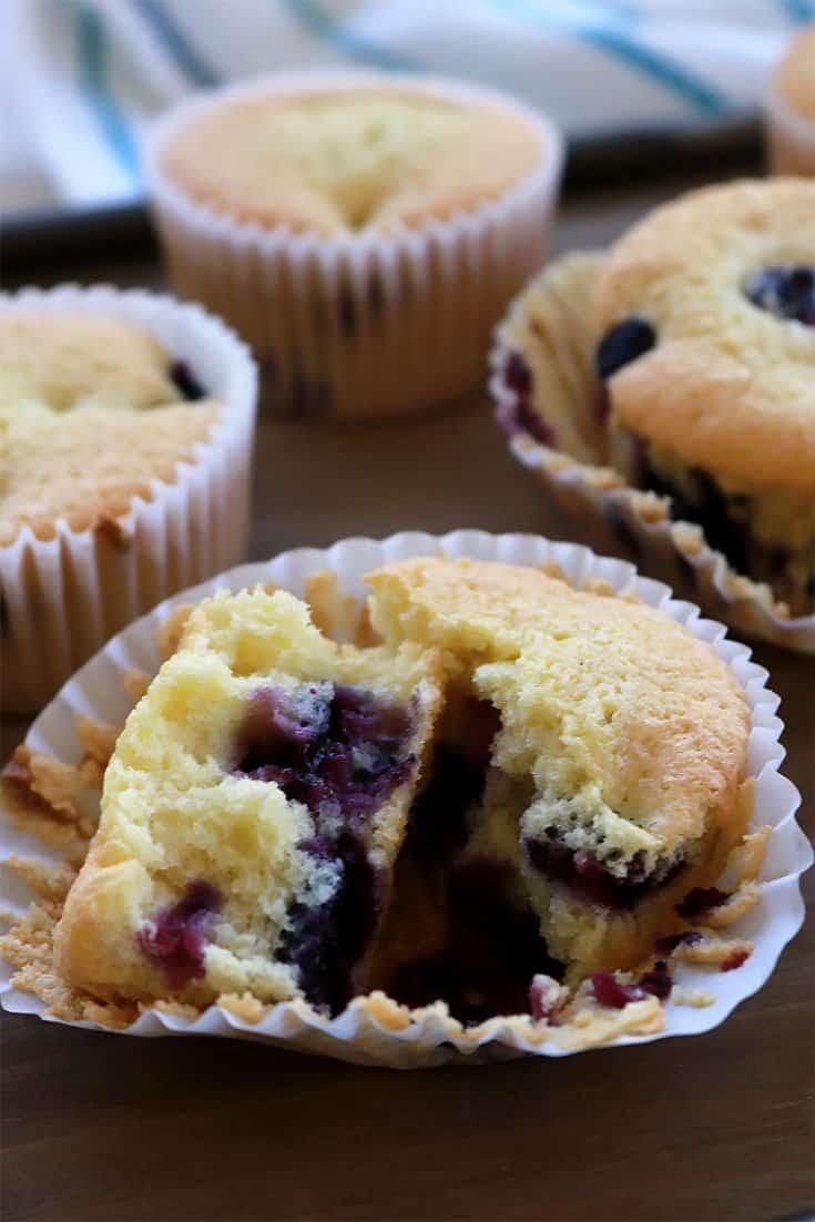 passover blueberry muffins, gluten free blueberry muffins, grain free blueberry muffins, healthy muffin recipe, blueberry muffins, almond flour, tapioca starch, gluten free baking, gluten free muffins, dairy free, passover dessert recipe, pesach, pesach blueberry muffins