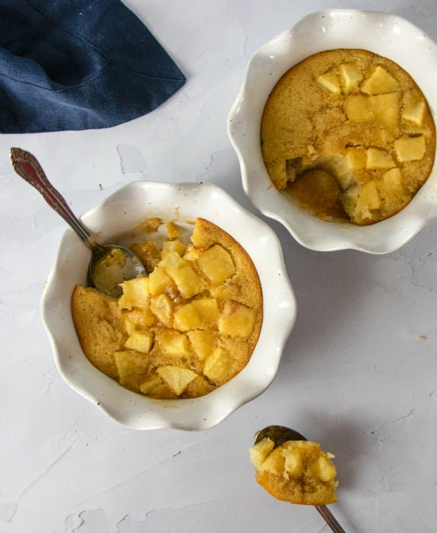 Gluten Free Apple Pudding Cake