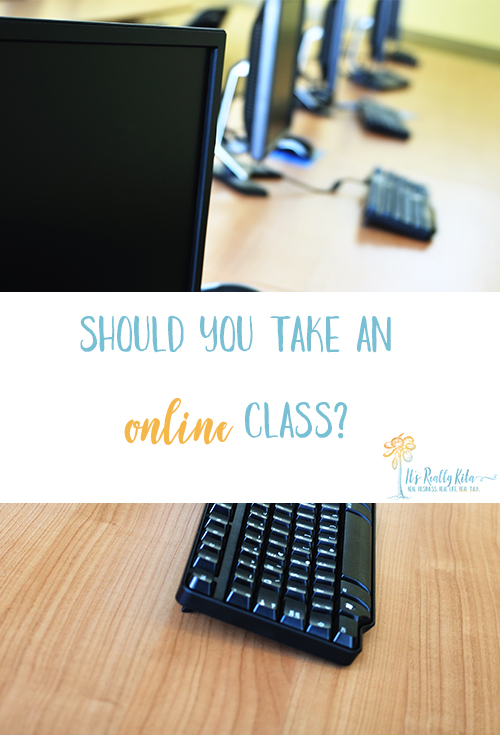 should people take online classes