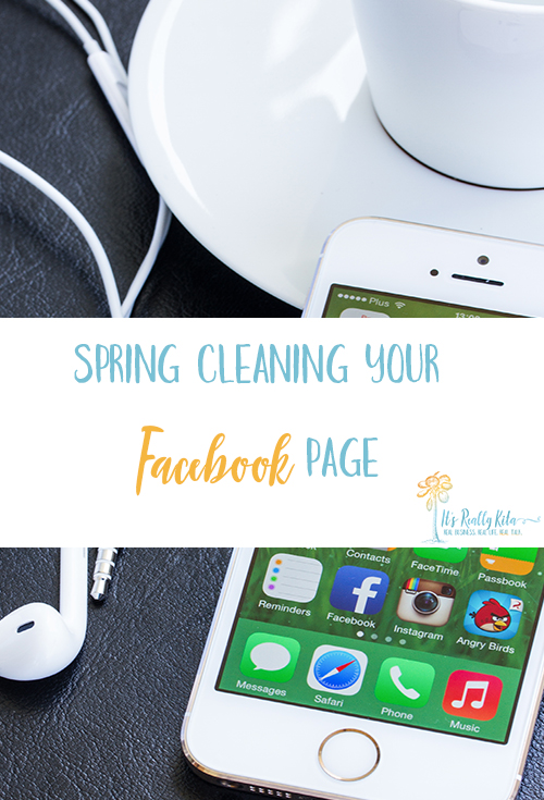 spring cleaning your facebook page