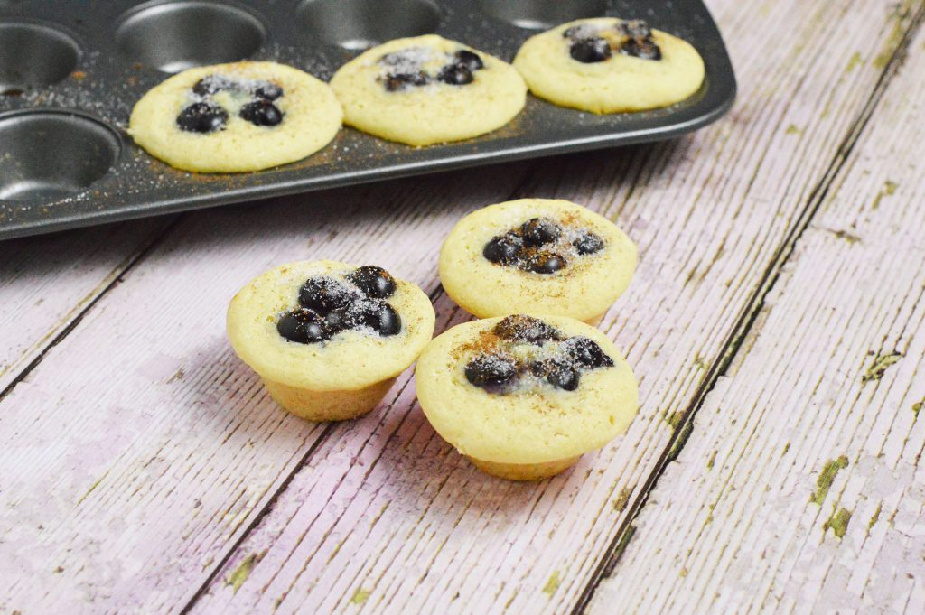 Blueberry Pie Pancake Muffins