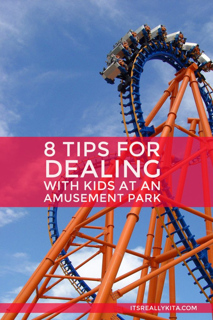 8 Tips for Dealing with Kids at an Amusement Park