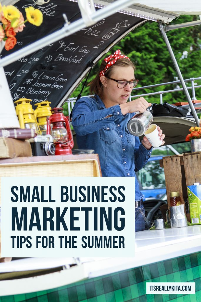 Small Business Marketing Tips for the Summer