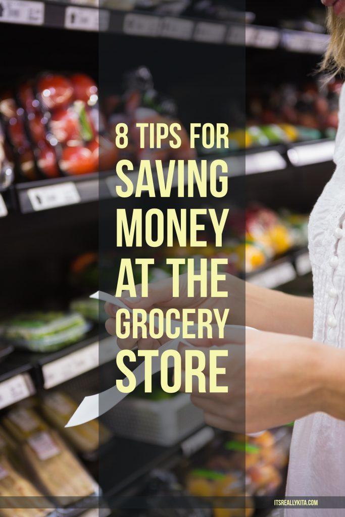 8 Tips for saving money at the grocery store