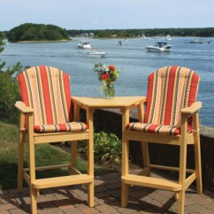 Chair Care Patio Wheel Sri Lanka Furniture: Bar Height Chairs: Adirondack - American Recycled Plastic: Quality Outdoor ...