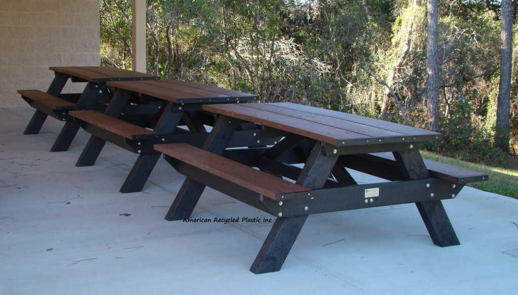 Standard Picnic Table A Frame Picnic Table American