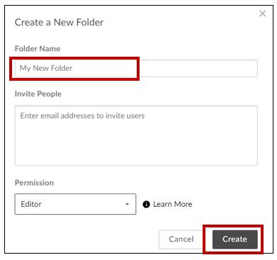 How to create a Folder in Box – RPI DotCIO
