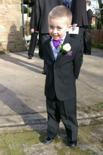 My Big Monkey in his Suit