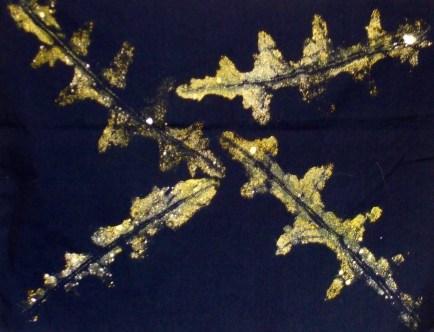 Leaf prints!