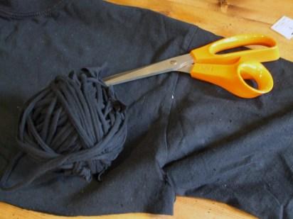 Making jersey yarn