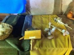 medieval cloth making