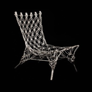 Knotted Chair Future H: 72 cm; W: 56 cm; D: 65 cm Design: Marcel Wanders, 2001