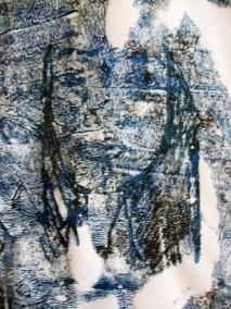paper print blue